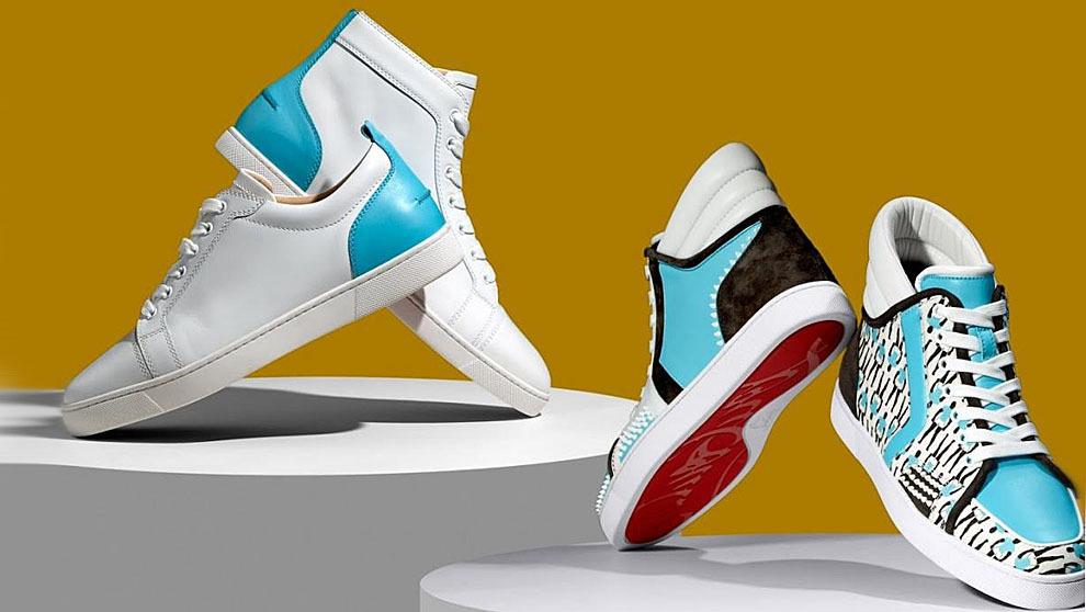 bienes de conveniencia nuevos productos para Mitad de precio Louboutin lanzan una colección de zapatillas con su icónica ...