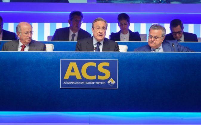 Junta de accionistas de ACS.