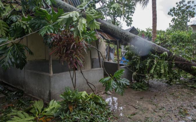 Haití tras el paso del ciclón Matthew