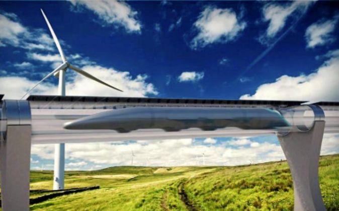 El Hyperloop de Musk.