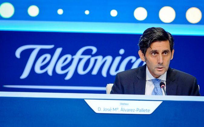 José María Álvarez-Pallete, presidente de Telefónica