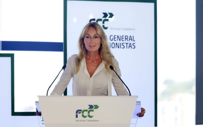 Esther Alcocer Koplowitz, presidenta de FCC