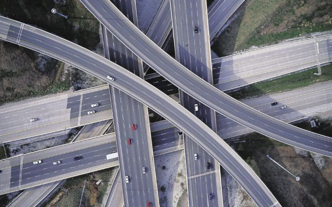 Autopista de Ferrovial en Toronto (Canadá).