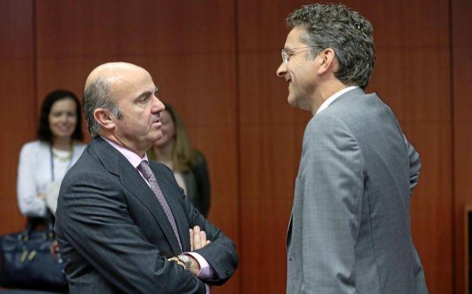 El ministro en funciones de Economía y Competitividad, Luis de...