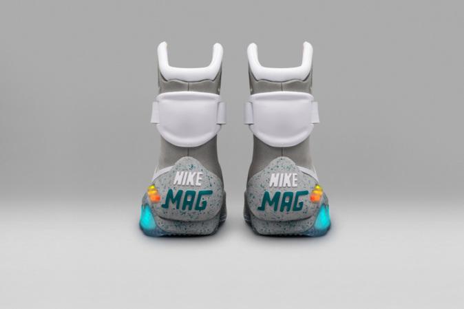 3c9dbb17c35 Nike Mag  nueva versión de las zapatillas de Regreso al Futuro se subastan  en 94.380 euros