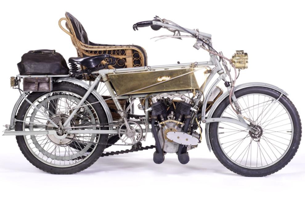 Estimación: 44.000 euros. Esta motocicleta fue redescubierta en los...