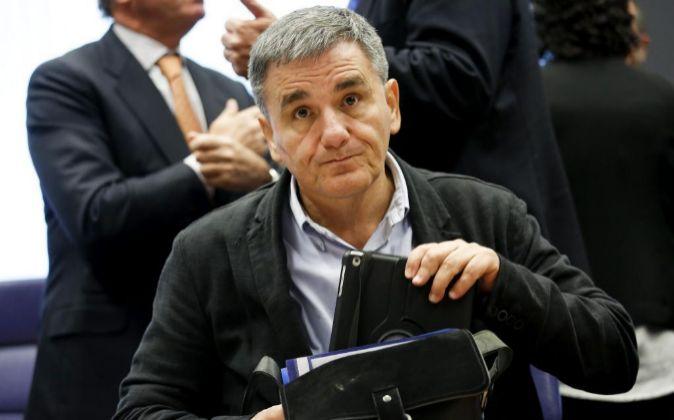 El ministro de Finanzas griego, Eucleidis Tsakalotos.