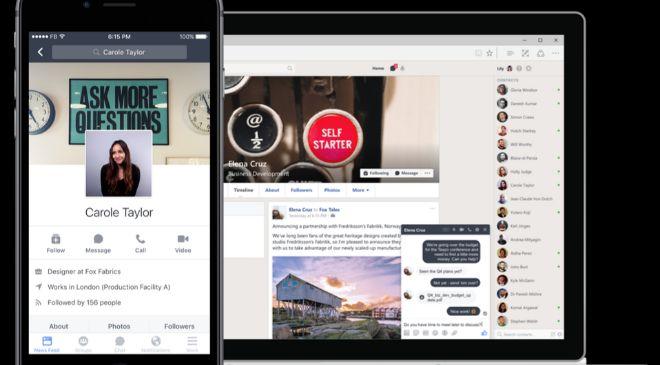 WorkPlace es la versión de Facebook para empresas.