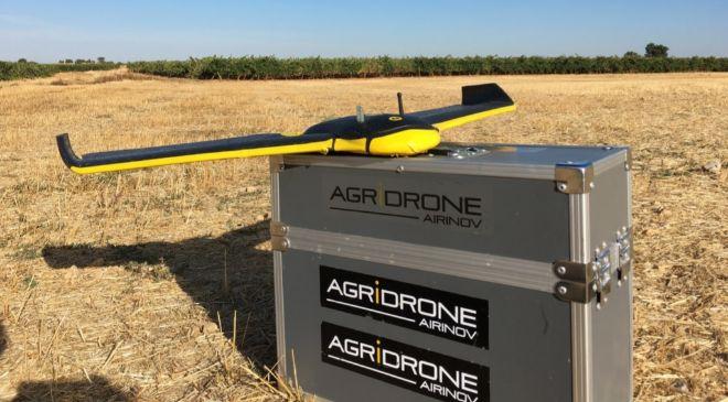 Imagen del drone utilizado por Matarromera en sus cultivos de vid y...