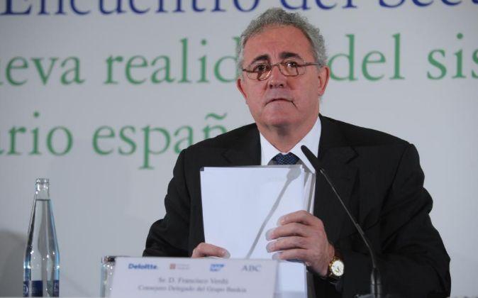 Francisco Verdú, exconsejero delegado de Bankia