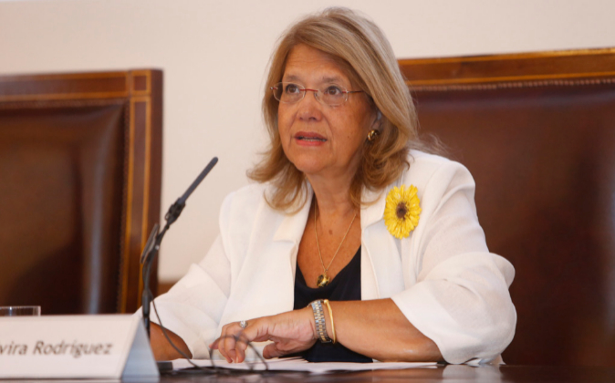 La expresidenta de la CNMV Elvira Rodríguez.