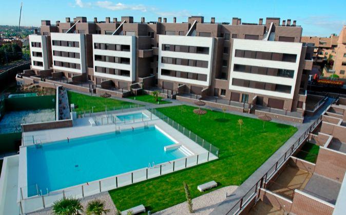 En la imagen, Aravaca Class I, promoción de 70 viviendas de Asentis...