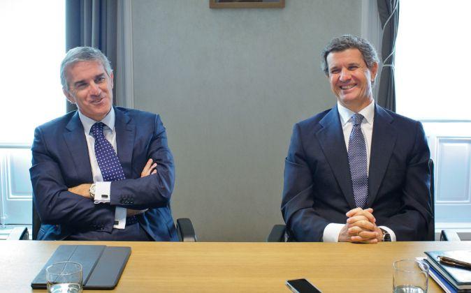 Jon Riberas y Francisco Riberas, máximos accionistas de Gestamp y...