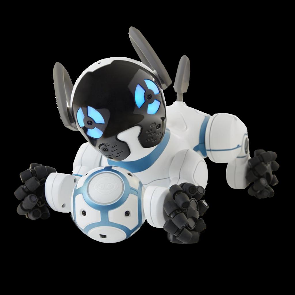 Chip es un inteligente y cariñoso perro robot. Con sensores avanzados...