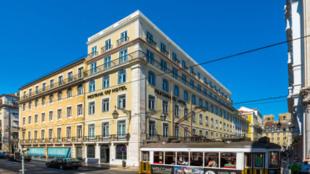 Fachada del nuevo hotel de Cristiano Ronaldo en Lisboa, Pastana CR7.