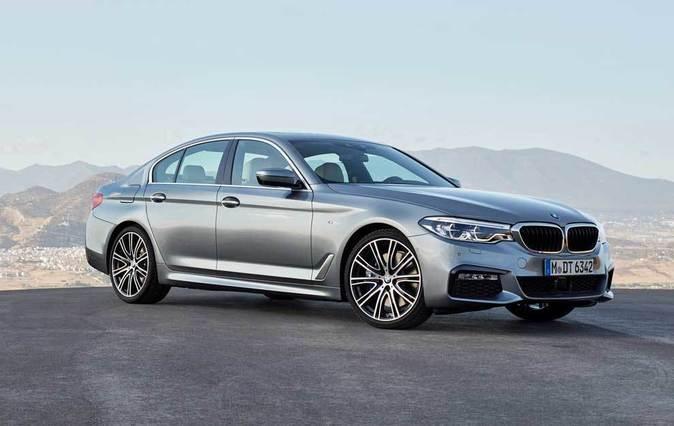 BMW lanzará en febrero el BMW Serie 5 Berlina