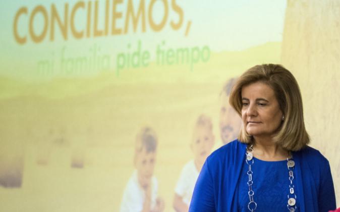 La ministra de Empleo en funciones, Fátima Báñez.