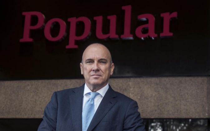 Pedro Larena, nuevo consejero delegado de Banco Popular