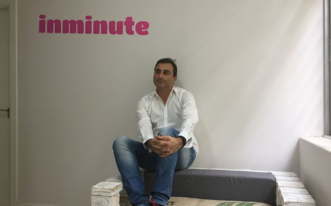 Luis Sanz, CEO y fundador de Inminute, una plataforma que optimiza los...