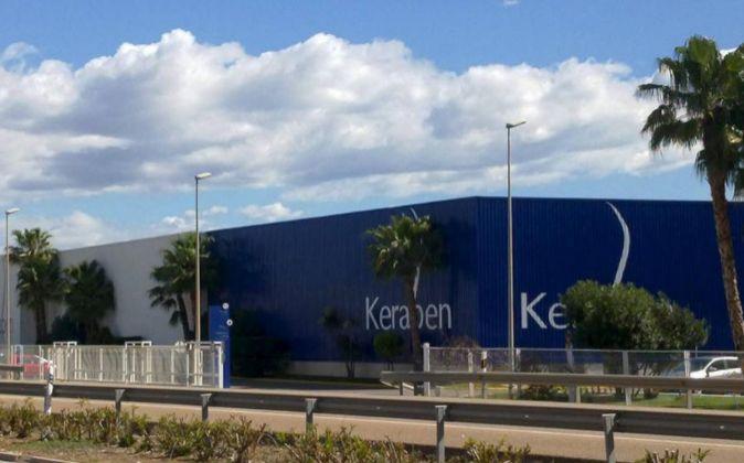 Fábrica de Keraben en Nules