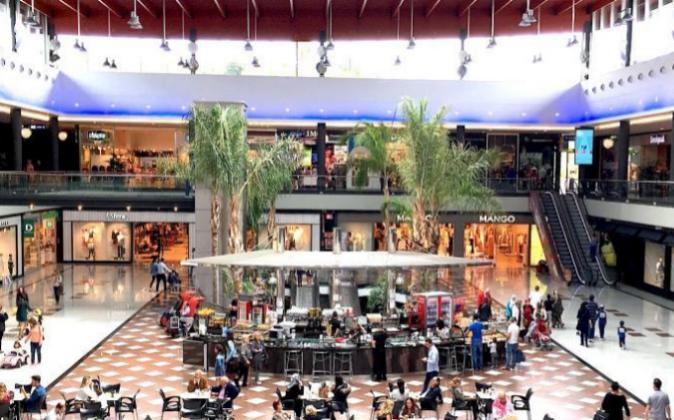 Centro comercial 'La Cañada'.