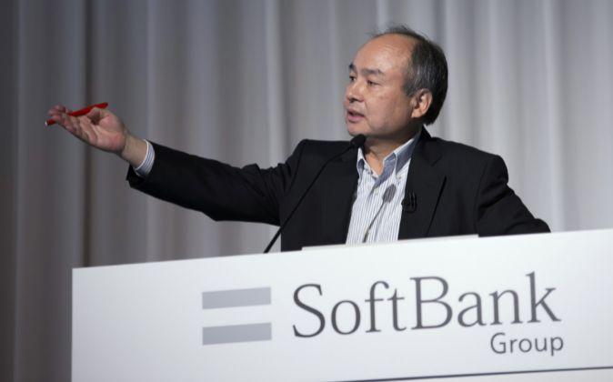 Masayoshi Son, presidente y CEO de SoftBank
