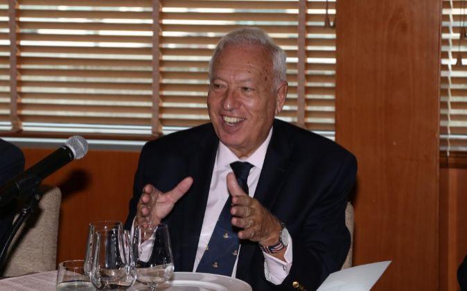 El ministro de Asuntos Exteriores y Cooperación en funciones, José...