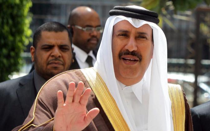 El jeque catarí Hamad bin Jassim al-Thani, en una imagen de archivo.