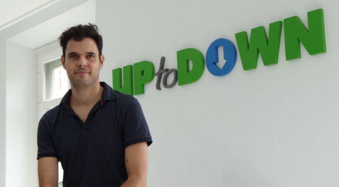 Luis Hernández, fundador y CEO de Uptodown.