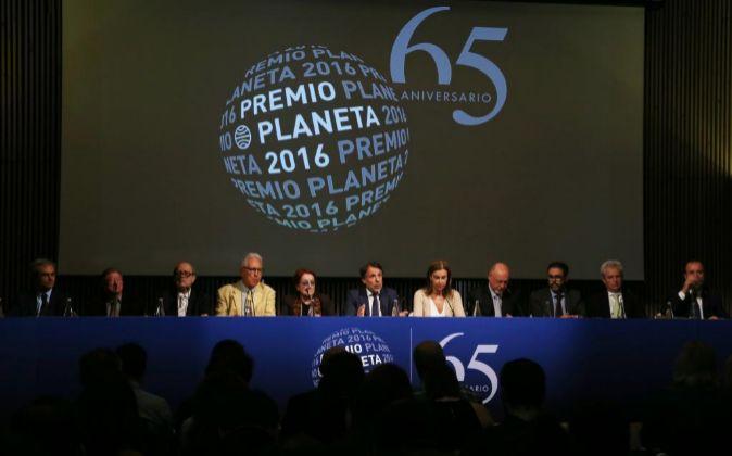 Presentación de la edición número 65 del Premio Planeta de Novela.