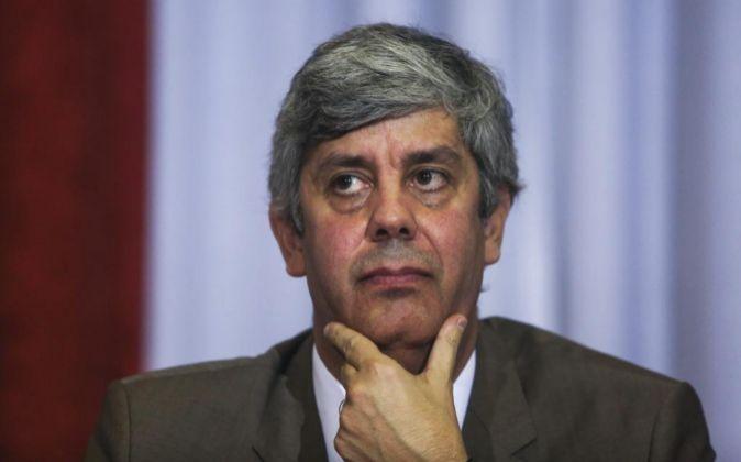 El ministro luso de Finanzas Mário Centeno.