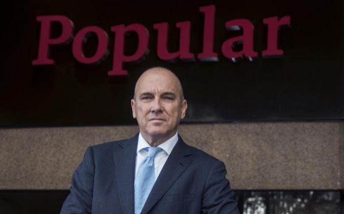 El nuevo consejero delegado de Banco Popular Pedro Larena.