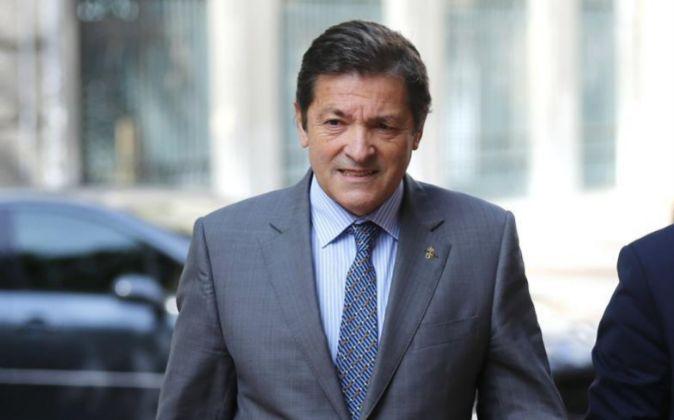 El presidente de la comisión gestora del PSOE Javier Fernández.