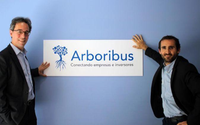 Carles Escolano y Josep Nebot, fundadores de Arboribus.