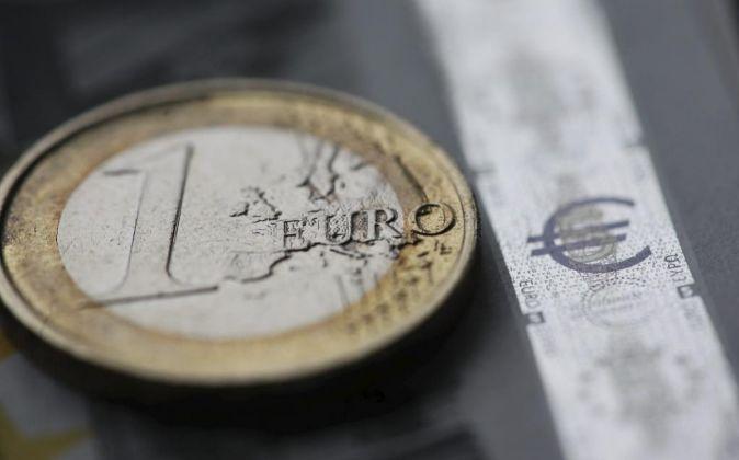 Moneda de un euro.