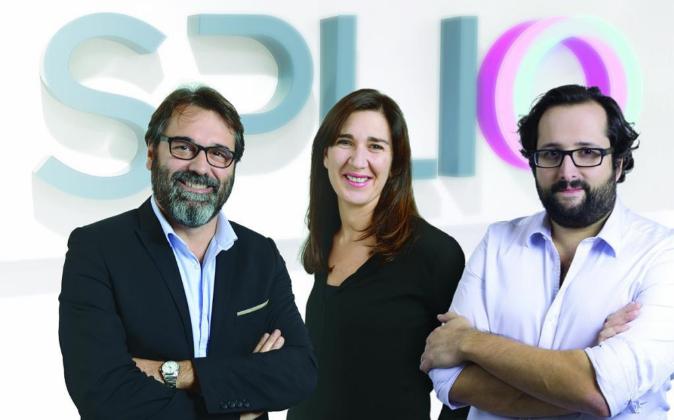 Los fundadores de Splio, Raphaël Jore, presidente (izda); y Louis...