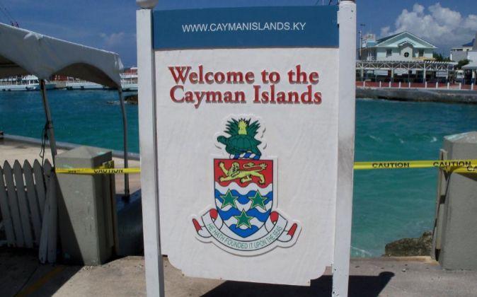 Imagen de las Islas Caimán, donde la banca española fundó...