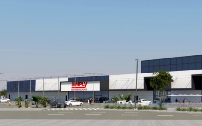 Imagen del proyecto comercial de Corpfin Capital en Alcorcón...