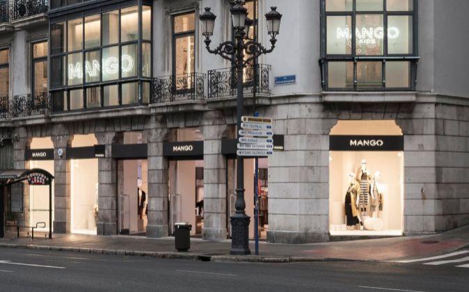 Tienda de Mango en Santander