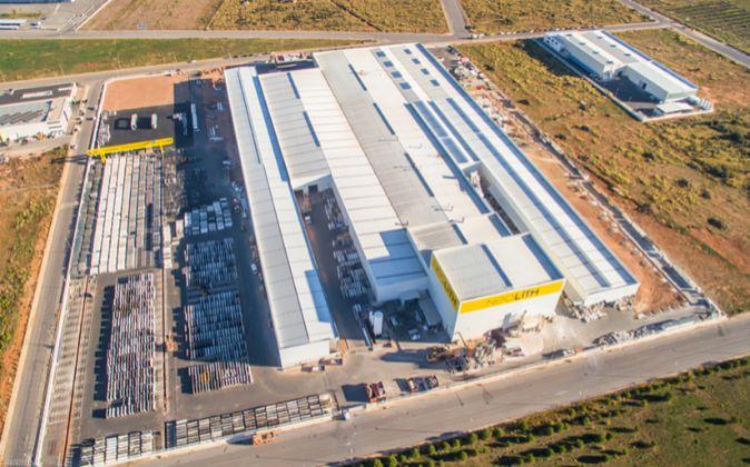 La factoría de The Size en Almassora, construida en 2009, en plena...