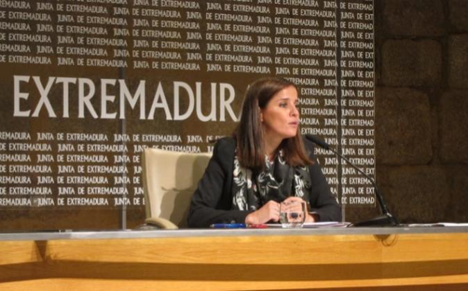 La portavoz de la Junta, Isabel Gil Rosiña.