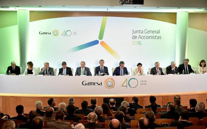 El negocio eólico de Gamesa y Siemens es la operación que lidera el...