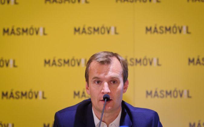 El consejero delegado de MásMóvil, Meinradd Spenger.