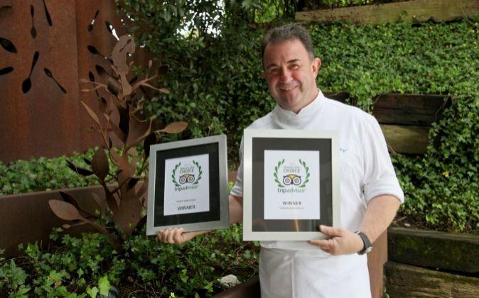 Martin Berasategui, chef del mejor restaurante del mundo según...