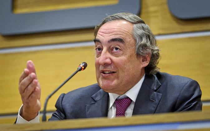Informe de competencias en el sector público (CEOE) con Juan Rosell...