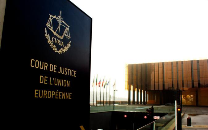 Sede de la Corte de Justicia de la Unión Europea.
