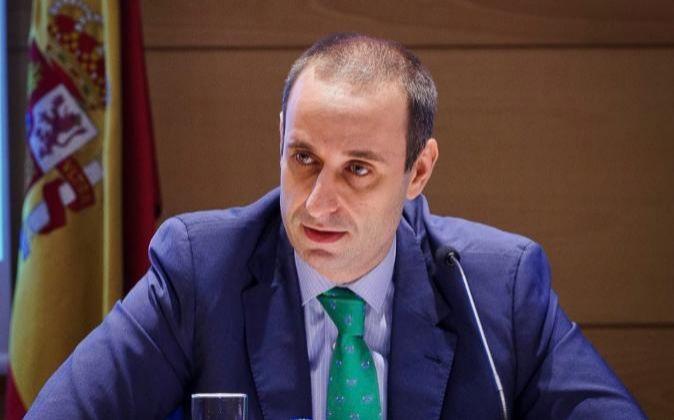 El presidente del FROB, Jaime Ponce.