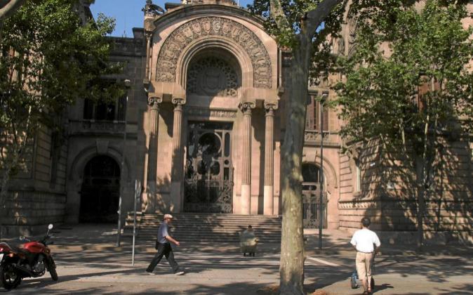 Imagen de la sede del Tribunal Superior de Justicia de Cataluña.