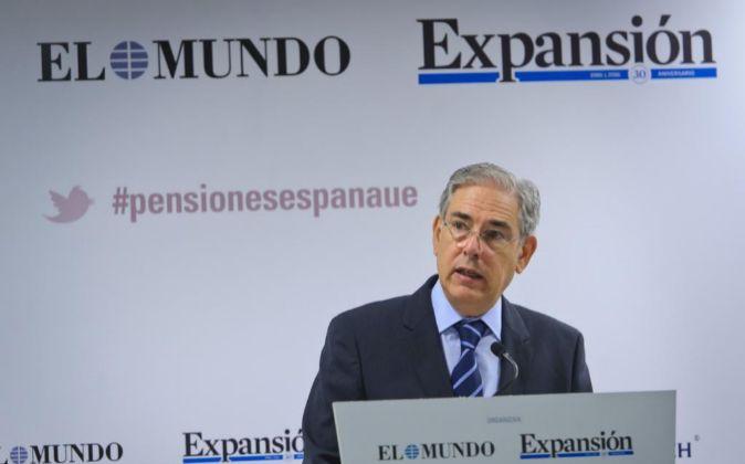 Antonio Fernández-Galiano, presidente de Unidad Editorial, en su...
