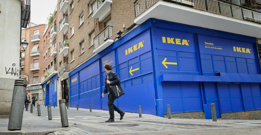 Así es la primera tienda Ikea en el centro de Madrid Ikea